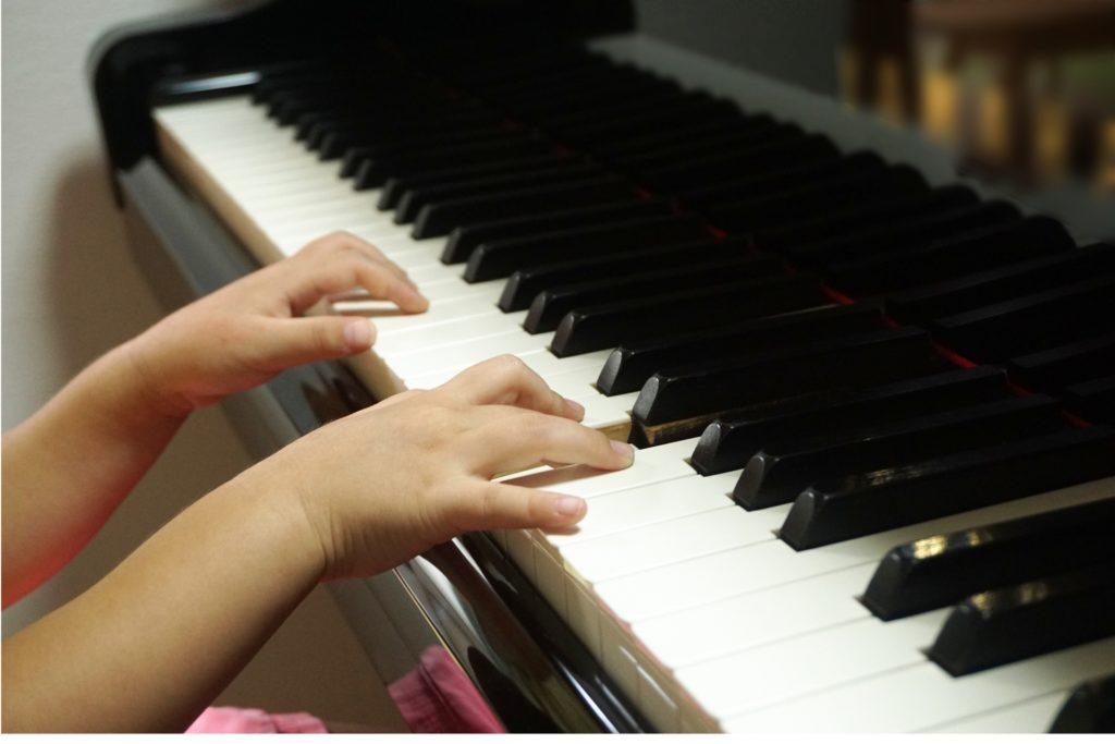 ピアノの音