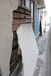 地震に弱い建物