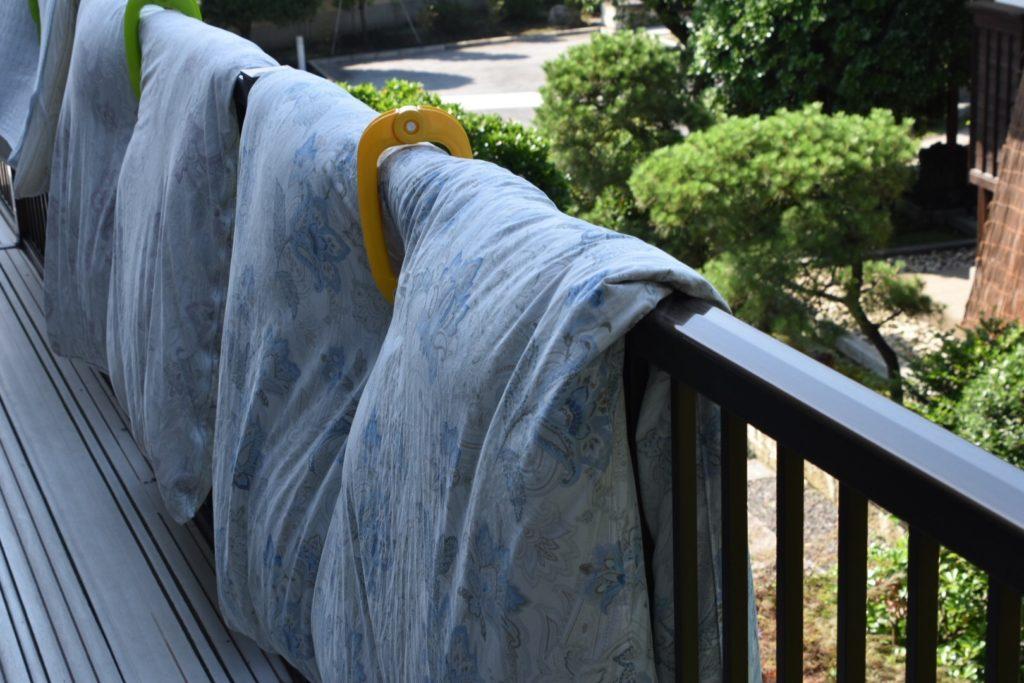 屋上 洗濯物スペース