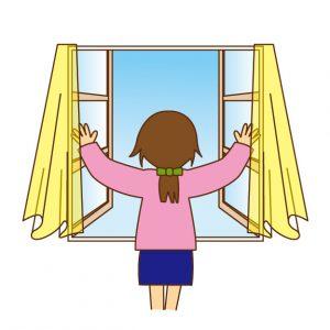 カーテン 窓 形状