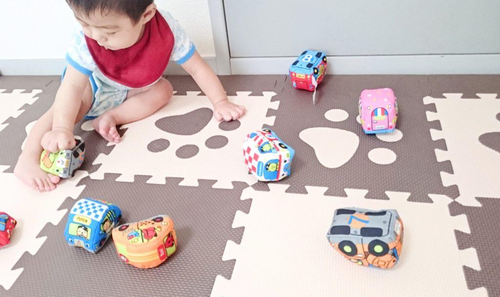 移動式 おもちゃ箱